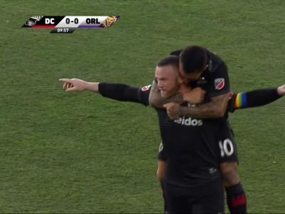 MLS : le but magistral de Wayne Rooney avec DC United contre Orlando