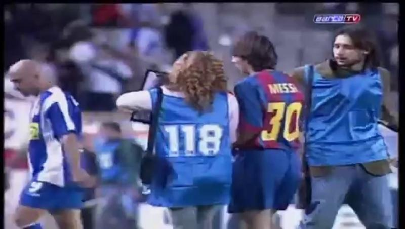 Le souvenir du jour : il y a 16 ans, Messi faisait ses débuts avec le Barça