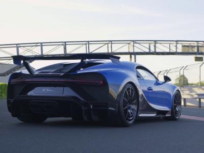 Bugatti Chiron Pur Sport : elle fait ses gammes sur circuit