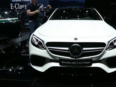 Genève 2017 : Mercedes-AMG E 63 Estate
