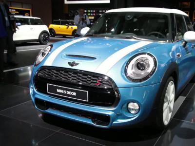 Mondial Auto 2014 : Mini 5 portes