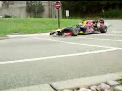 A bord de la F1 RedBull Racing sur le futur circuit du New Jersey