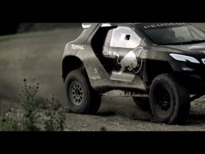 La Peugeot 2008 DKR en action : prête pour le Dakar 2015 !