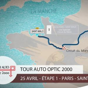 Tour Auto 2017 | Etape 1 : Paris - Saint-Malo