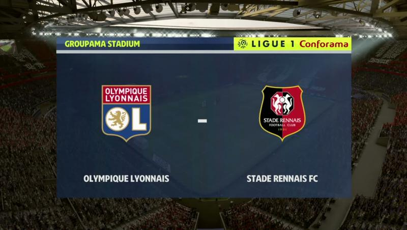 Lyon - Rennes : notre simulation FIFA 20