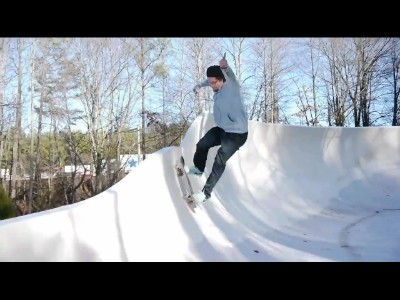 Un parc d'attraction en guise de rampe de skate