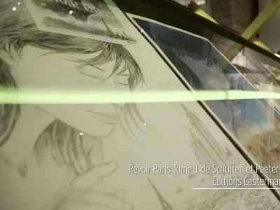 Revoir Paris, l'exposition et la BD