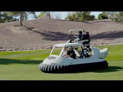 La voiture de golf nouvelle génération