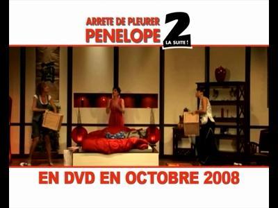 Arrete de pleurer Penelope 2 en DVD