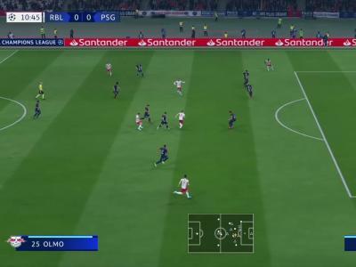 RB Leipzig - PSG sur FIFA 20 : résumé et buts (1/2 finale de la Ligue des Champions)