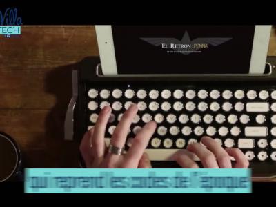 La Villa Tech - Clavier bluetooth rétro Elretron Penna