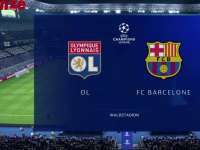 OL - Barça : notre simulation sur FIFA 19
