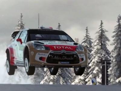 WRC 4 se dévoile en vidéo