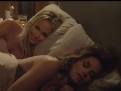Clooney met Cindy Crawford dans son lit