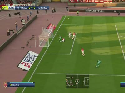 AS Monaco - FC Nantes sur FIFA 20 : résumé et buts (Ligue 1 - 31e journée)