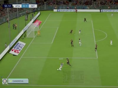 Atalanta Bergame - Inter Milan sur FIFA 20 : résumé et buts (Serie A - 38e journée)