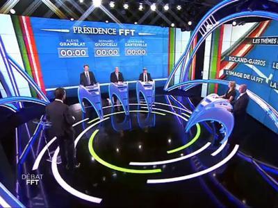 FFT - Tennis - Le débat beINSports pour la présidence de la FFT : Dartevelle, Giudicelli et Gramblat !
