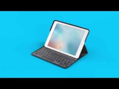 Clavier Logitech Create pour iPad Pro 9.7 pouces - vidéo officielle
