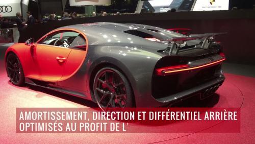 La Bugatti Chiron Sport en vidéo depuis le salon de Genève 2018