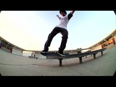 Le skateur Terry Kennedy pour Supra