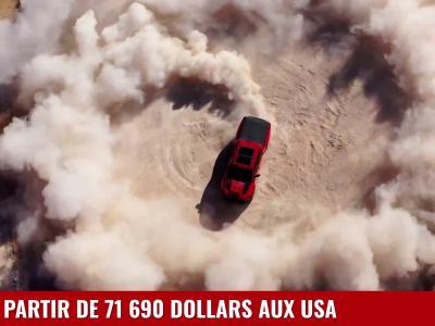 Dodge RAM 1500 TRX : le plus puissant des pick-up en vidéo