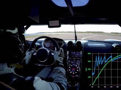 La Koenigsegg Agera RS pulvérise la Bugatti Chiron sur le 0-400-0 km/h