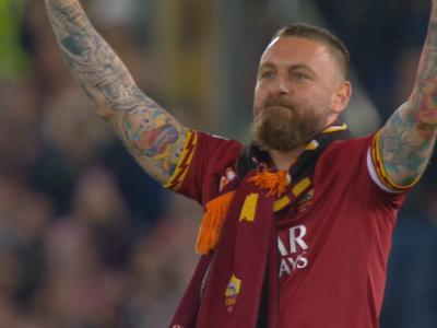 AS Roma : les adieux de la légende Daniele De Rossi en vidéo