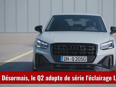 Audi Q2 (2021) : le SUV urbain restylé en vidéo