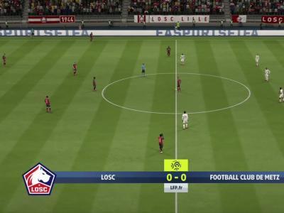 L1 - 3e journée : notre simulation FIFA 20 de LOSC - Metz
