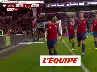 Tous les buts de Norève - Espagne - Foot - Qualif. Euro