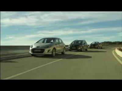 Film 308 restylée (versions SW et cabriolet CC)
