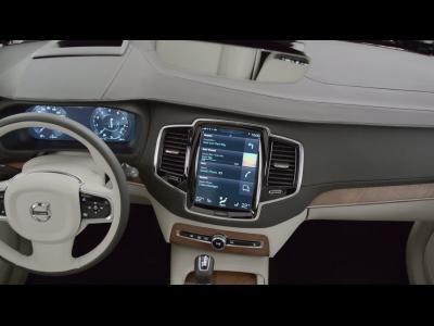 L'habitacle du prochain Volvo XC90 dévoilé