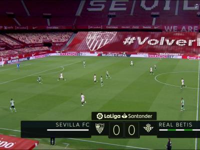 La Liga : Ocampos et Séville maîtres du derby