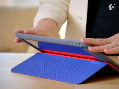 Logitech AnyAngle, l'étui ajustable pour iPad