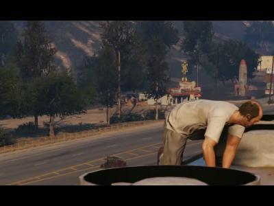 GTA 5 : 2e trailer du jeu