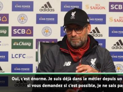 Liverpool : Klopp évoque le record d'invincibilité d'Arsenal