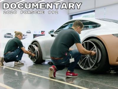 Découvrez le documentaire qui retrace la conception de la Porsche 911 992