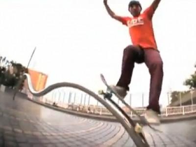 Le skate revu et corrigé par le japonais Gou Miyagi