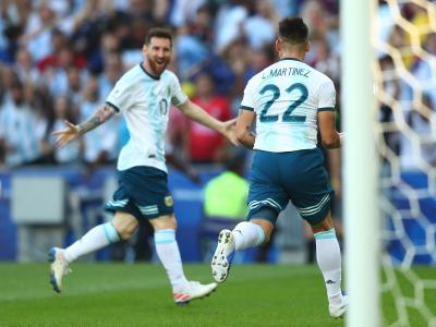 Copa America 2019 : le but de Lautaro Martinez (Venezuela - Argentine)