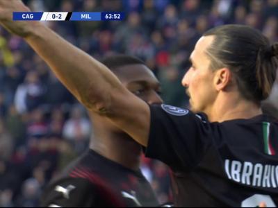 Cagliari - AC Milan : Ibrahimovic signe son retour en Serie A !