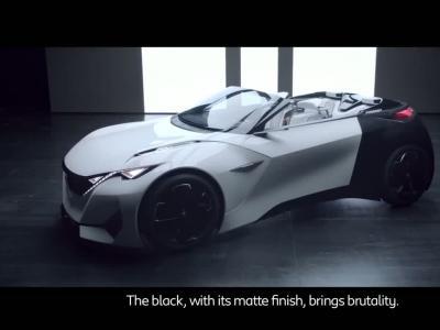 Le look du Peugeot Fractal en détails