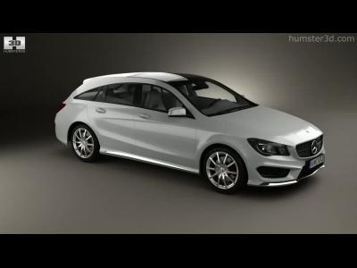 Aperçu vidéo très réaliste de la Mercedes CLA Shooting Brake