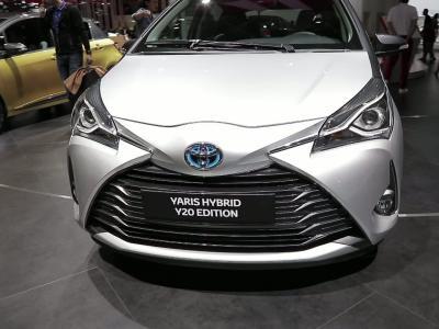 Mondial de l'Auto 2018 : la Toyota Yaris Y20 Edition en vidéo