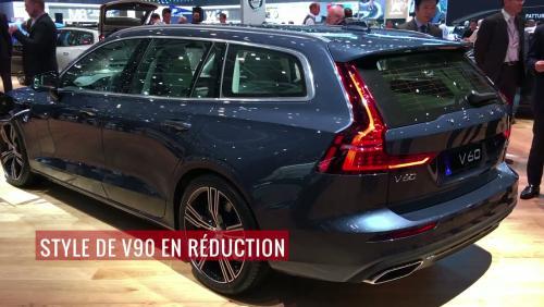 Volvo V60 : découverte depuis le salon de Genève 2018