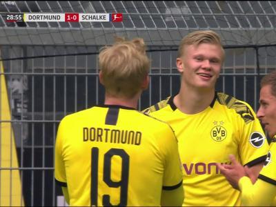Bundesliga : Haaland est le premier à dégainer !