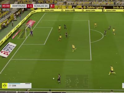 Borussia Dortmund - Schalke sur FIFA 20 : résumé et buts (Bundesliga - 26e journée)