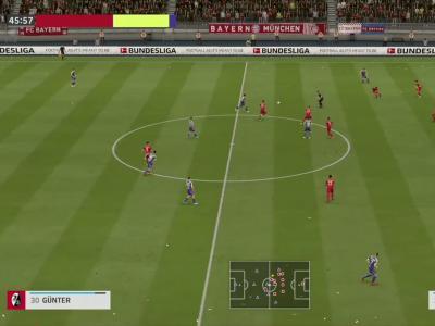 Bayern Munich - SC Fribourg sur FIFA 20 : résumé et buts (Bundesliga - 33e journée)