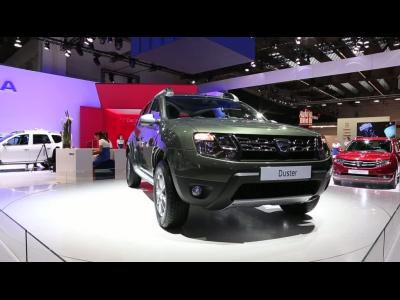 Francfort 2013 - Dacia Duster restylé