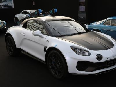 Festival Automobile International 2020 : visite de l'expo Concept Car