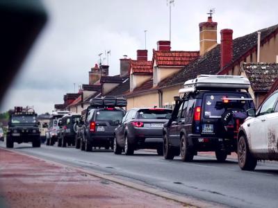 Jubilé Land Rover: la tentative de record